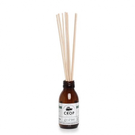 Gorse - Crop Reed Diffuser in Brown Jar full