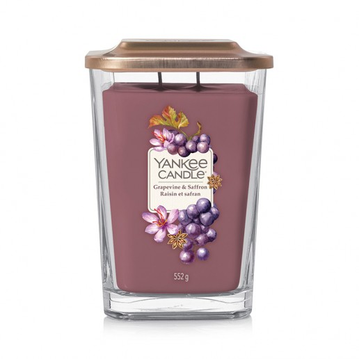 Grapevine & Saffron - 2 - wick Large Jar Elevation Collection