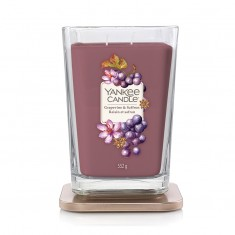 Grapevine & Saffron - 2 - wick Large Jar Elevation Collection Open