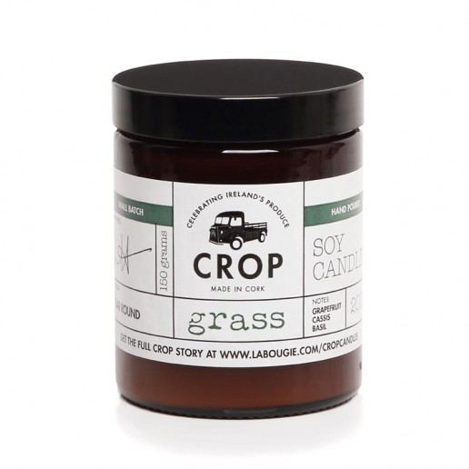 Grass - Crop Soy Wax Candle in Brown Jar