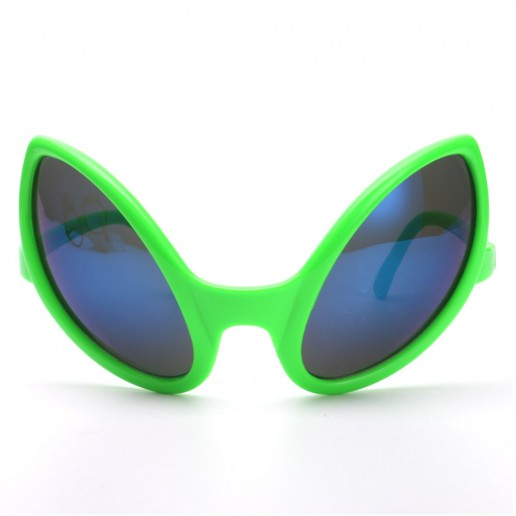 8737c699372 Green Alien Party Sunglasses