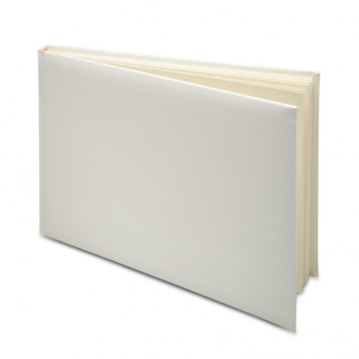 Guest Book in PVC Box - Ivory