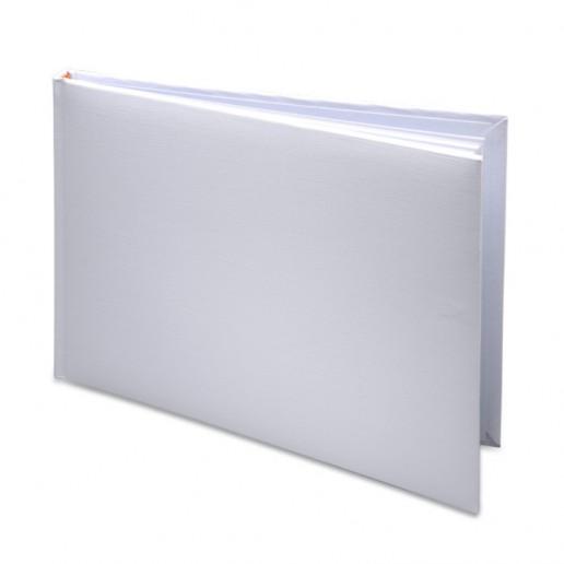 Guest Book in PVC Box - White