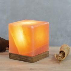 Himalayan Salt Lamp - Cube lifestyle