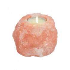 Himalayan Salt Tea Light Candle Holder - Natural Shape 0.5kg