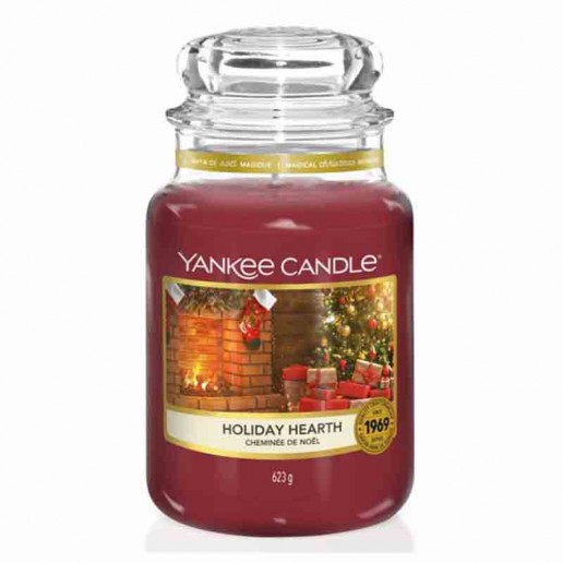 Holiday Hearth - Yankee Candle Large Jar