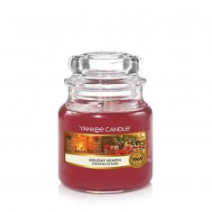 Holiday Hearth - Yankee Candle Small Jar