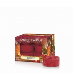 Holiday Hearth - Yankee Candle Tea Lights