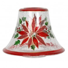 Holly Floral - Yankee Candle Jar Lamp Shade
