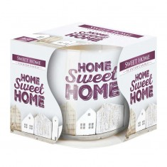 Home sweet home - Scented Candles  In Glass