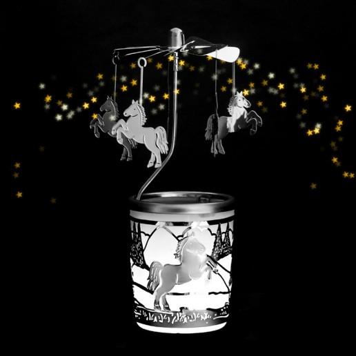 Pony - Spinning Tea Light Candle Holder