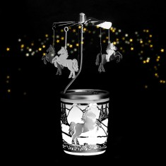 Pony - Spinning Tea Light Candle Holder