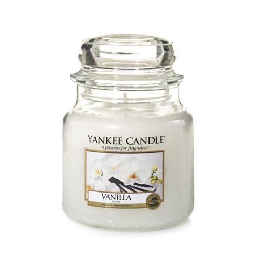 Vanilla - Yankee Candle  Medium Jar