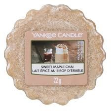 Sweet Maple Chai - Yankee Candle Wax Melt