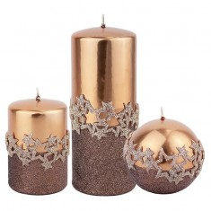 Ice Star Copper Candle Collection