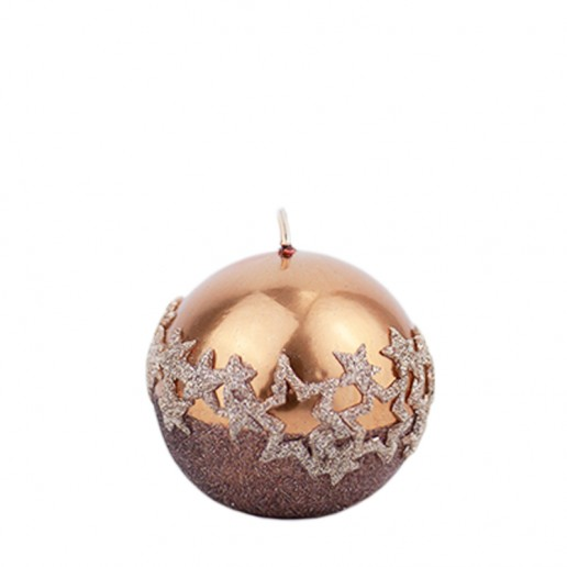 Ice Star Copper Sphere Candle