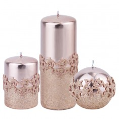 Ice Star Rose Candle Collection