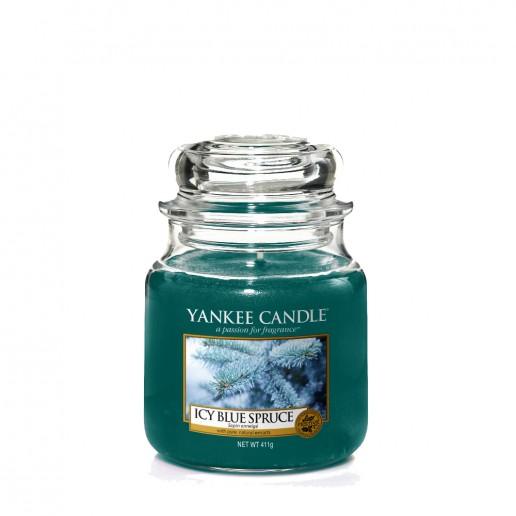 Icy Blue Spruce - Yankee Candle Medium Jar