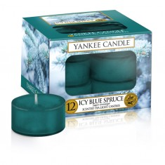 Icy Blue Spruce - Yankee Candle Tea Lights
