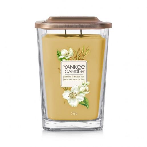 Jasmine & Sweet Hay - 2 - wick Large Jar Elevation Collection