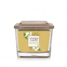 Jasmine & Sweet Hay - Small Jar Elevation Collection Yankee Candle
