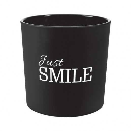 Just Smile - Scented Candle in Glass