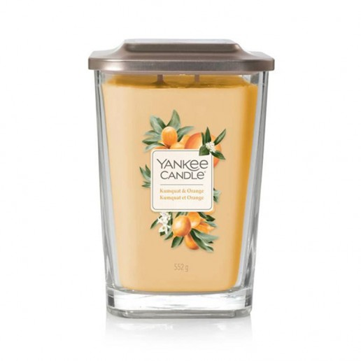 Kumquat & Orange - 2 - wick Large Jar Elevation Collection