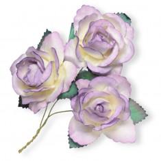 Large Paper Rosebud - Lilac linked