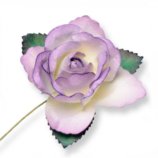Large Paper Rosebud - Lilac