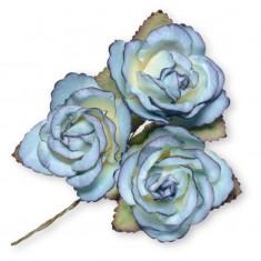 Large Paper Rosebud - Royal Blue linked