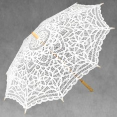 Large Parasol - White