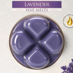 Lavender Wax Melts closeup