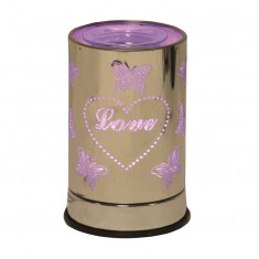 LED Cylinder Electric Wax Melt Burner - Love