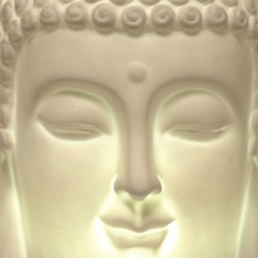 Led Ultrasonic Ceramic Diffuser - Buddha closeup