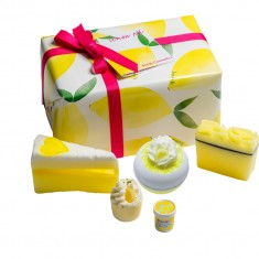 Lemon Aid Gift Set - Bath Bomb Cosmetics