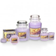 yankee candles lemon lavender scented candles