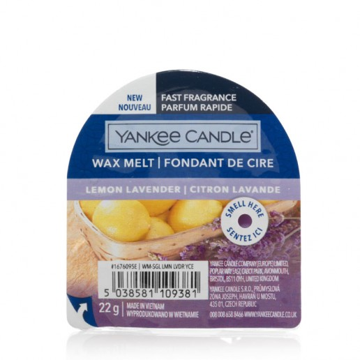 Lemon Lavender - Yankee Candle Wax Melt New