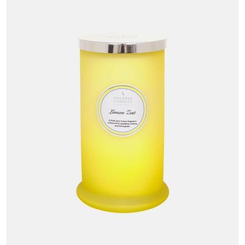 Lemon Zest - Tall Pillar Jar Candle