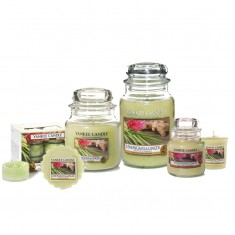 Yankee Candle Lemongrass & Ginger Scented Candles