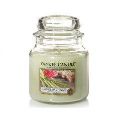 Lemongrass & Ginger - Yankee Candle Medium Jar