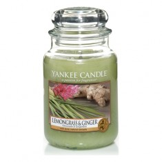 Lemongrass & Ginger - Yankee Candle Large Jar