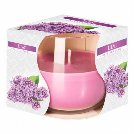 Lilac - Scented Candle in Glass Best Smelling Cheap Sale Discounts