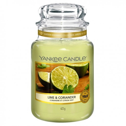 Lime & Coriander - Yankee Candle Large Jar