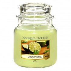 Lime & Coriander - Yankee Candle Medium Jar