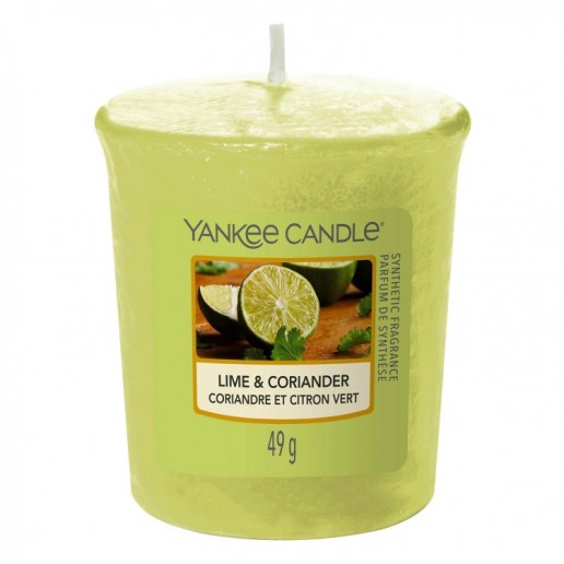 Lime & Coriander - Yankee Candle Samplers Votive