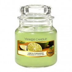 Lime & Coriander - Yankee Candle Small Jar