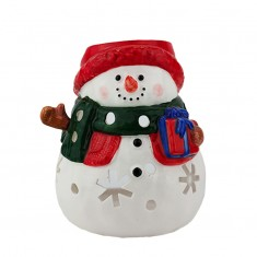 Little Snowman - Yankee Candle Tea Light Candle Holder