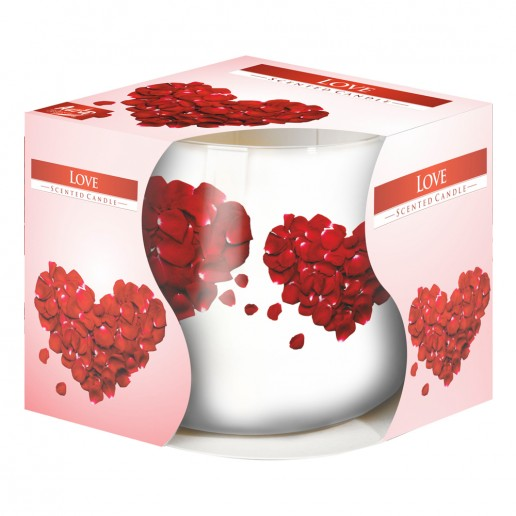 Love - Scented Candle in Glass Best Smelling Cheap