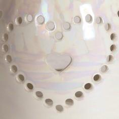 Lustre Heart - Wax Melt Burner zoom