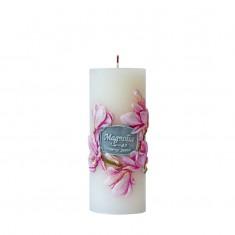 Magnolia - Scented Handmade Pillar Candle